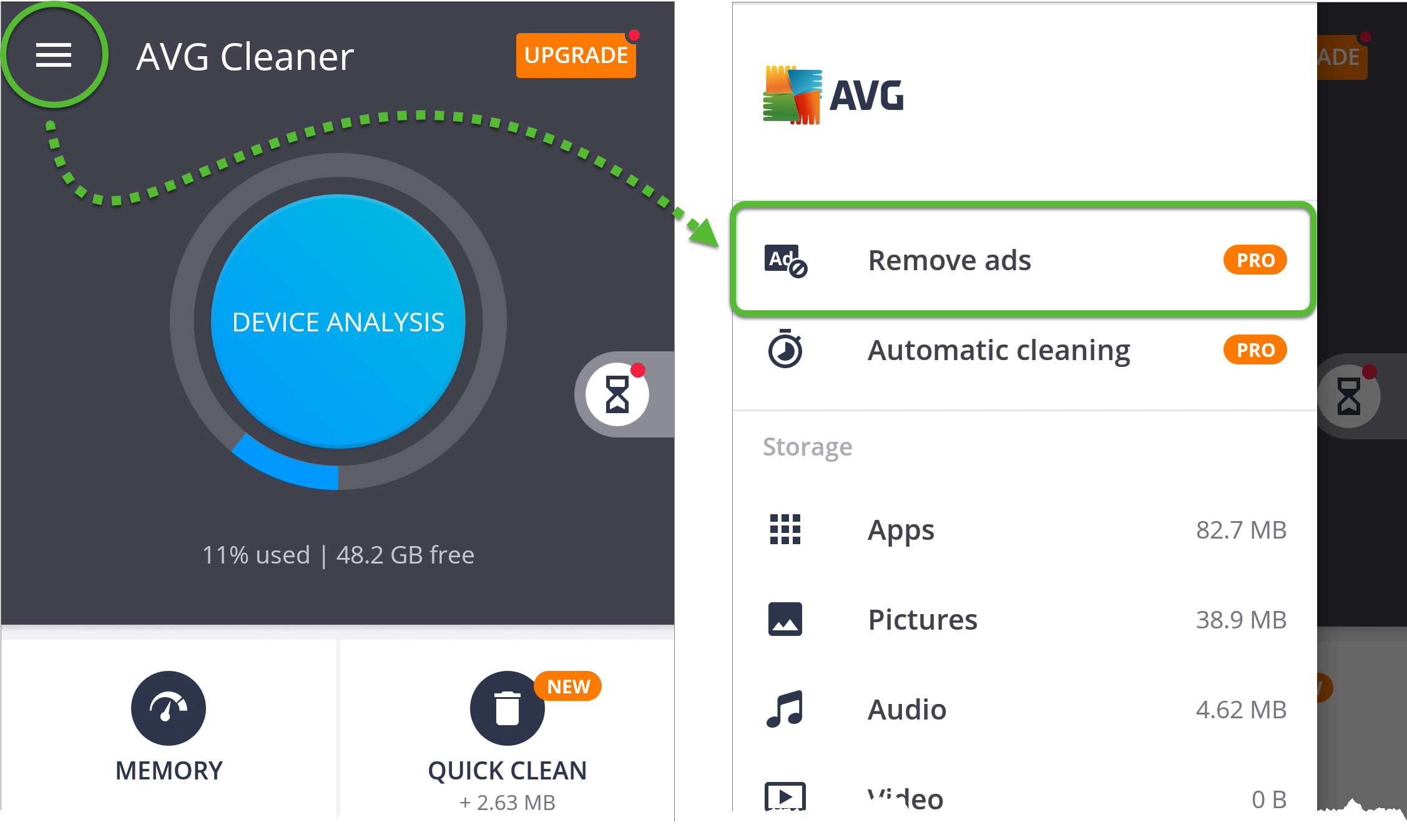 Activating AVG Cleaner on Android | AVG Support