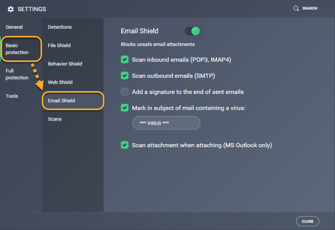Managing your AVG email signature settings | AVG Support
