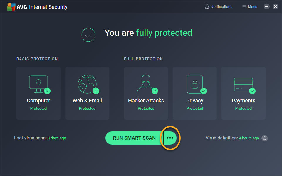 free scan pc virus and remove online